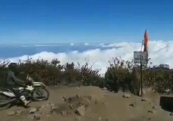 Viral Gunung Lawu Dinaiki Motor, Komunitas Lawu Trail Community Ajak Musyawarah