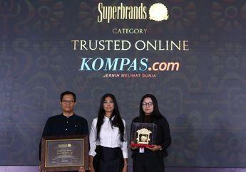 Hebat! Kompas.com Jadi Pemenang Kategori Media Online Tepercaya