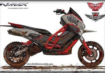 Honda ADV150 Sih Lewat, Yamaha NMAX Dirombak Jadi Skutik Adventure