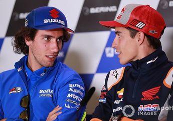 Makin Panas, Pasca Senggolan di MotoGP Ceko 2019, Alex Rins Sebut Marc Marquez Tidak Menghormati Pembalap Lain
