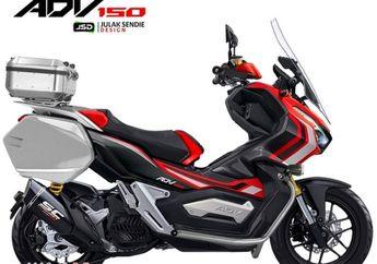 Bikin Gigit Jari, Modifikasi Skutik Adventure Honda ADV150 Tampil Sangar dan Siap Berpetualang