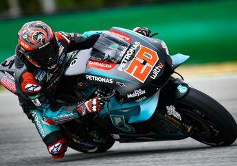 Hasil FP1 MotoGP Inggris 2019, Quartararo Terdepan, Rossi 7 Besar