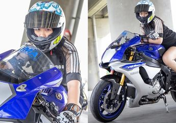 Unik, Kisah Biker Cewek Penunggang Yamaha R1, Sering Dikira Cowok