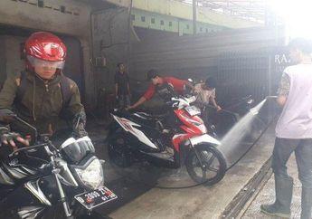 Viral Cuci Motor di Bandung Hanya Rp 5 Ribu, Konsumennya 11 Ribu Motor Perbulan