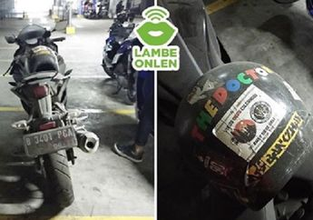 Misterius, Yamaha R15 Teronggok 2 Bulan di Parkiran Mall, Pemilik Diduga Sudah Meninggal