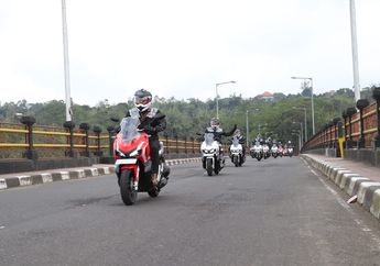 Digeber Sejauh 254 Km, World Premiere Riding Experience Honda ADV150