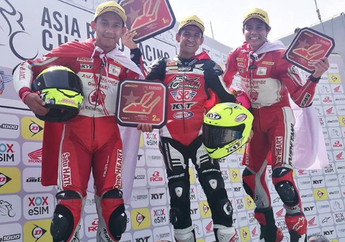Hasil Race 1 AP250 ARRC China 2019, Podium Dikuasai Pembalap Indonesia