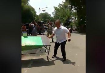 Dianggap Kejam, Video Kasatpol PP Medan Tersiram Air Panas Tapi Kasih Toleransi Bentor