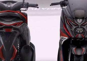 Video Skutik Yamaha NMAX Megatron Terbaru Bikin Heboh, Lampu Depan Sangar, Stoplamp Meruncing