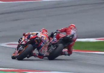 Tonton Lagi Duel Menegangkan MotoGP Austria, Manuver Maut Andrea Dovizioso 'Membunuh' Marc Marquez