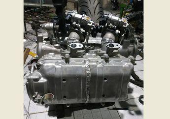 Modif Yamaha XMAX Jadi 500 cc 2 Silinder dan 2 Throttle Body
