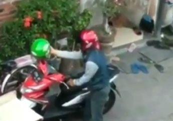 Cuma Ditinggal Rapat Sebentar, Honda BeAT Milik Seorang Guru Raib Dibawa Kabur Maling