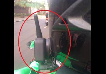 Penumpang Kaget, Driver Ojol Pakai Alat Canggih Buat Ngobrol di Motor, Gak Perlu Teriak-teriak Lagi