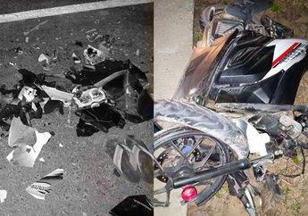 Fatal! Bahaya Lampu Utama Enggak Nyala, Dua Motor Adu Banteng, Satu Orang Tewas