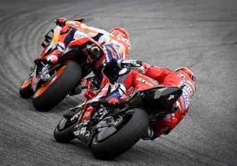 Menang Telak Duel Tikungan Terakhir di MotoGP, Dovizioso 5 dan Marc Marquez 1