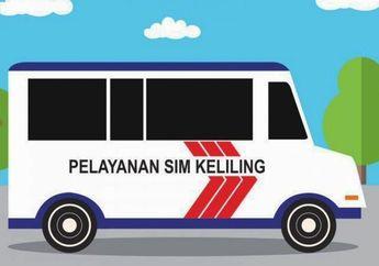 Jangan Sampai Telat, Ini Daftar Lokasi SIM Keliling Di Jakarta Dan Sekitarnya Hari Ini