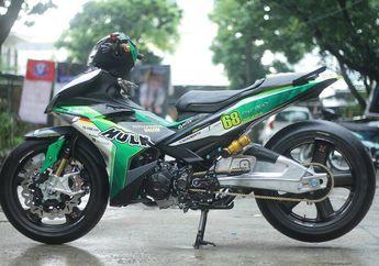 Gagah Berotot, Ada Jiwa Hulk di Yamaha Jupiter MX King, Komponen yang Dipakai Bikin Melongo