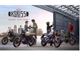 Selain Honda ADV250, Rupanya Yamaha XSR155 Bakal Ada Versi 250 cc