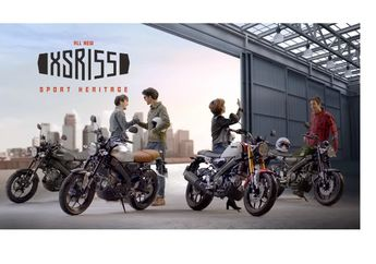 Motor Retro Yamaha XSR155 Ditunggu Bikers Indonesia, Pihak Yamaha Kasih Komentar Mengejutkan