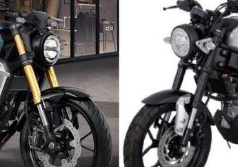 Saling Beradu Muka, Gantengan Mana Yamaha XSR155 Atau Honda CB150R ExMotion?