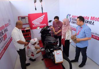 Seru! AHM Gelar Kompetisi Teknik Motor Honda Ke-26, Puluhan Teknisi dan Service Advisor Ikut Serta