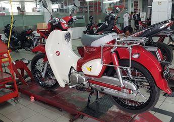 Pemakaian Honda Super Cub C125 Setahun, Part Apa Saja Yang Diganti Ya?