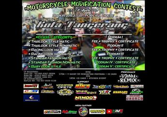 Cihui Nih, Gelaran Motorscycle Modification Contest Siap Digelar, Catat Tanggalnya