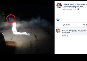 Karawang Geger, Pocong Teror Warga yang Melintas Malam Hari, Polisi Selidiki Modus Begal Motor