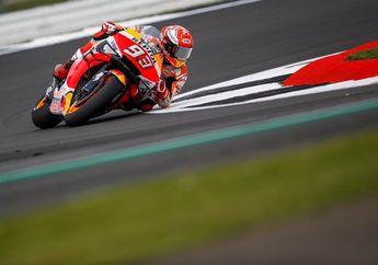 Bikin Kagum, Sempat Crash Masih Aja Kencang, Video Detik-detik Marquez Jatuh di FP2 MotoGP Inggris 2019