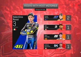 Terbelah Dua, Statistik MotoGP Inggris Ala Donington Park dan Silverstone