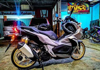 Skutik Adventure Honda ADV150, Upgrade Pakai Pelek 17 dan Ban Cacing