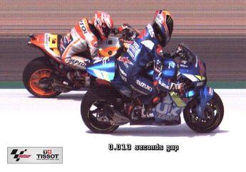 Gile Bener! Cuma Rins Yang Bisa Kalahkan Marquez Dua Kali di Trek Silverstone, Menang Tipis Pula