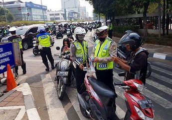 Terjaring Razia Operasi Patuh 2019 Pemotor Tewas Memar-memar Setelah Berkelahi Dengan Polisi