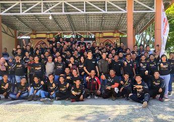 Meriah, Gelaran Anniversary ke-2 ARCI Gorontalo Dihadiri 200 Bikers se-Sulawesi