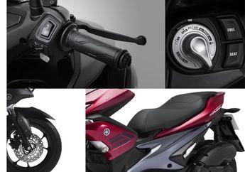 Keren, Tampilan Yamaha Aerox 125 cc Mirip Kakaknya, Desain Lancip Banyak Fitur Menarik