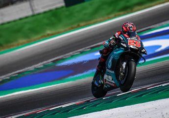 Kesel Banget, Motor Problem Di Tikungan 5 Pas  WUP, Fabio Quartararo Sampai Pukul Motor