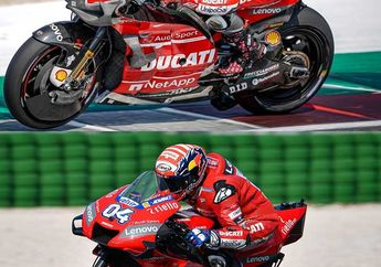 Terungkap, Fakta Dovizioso Kalah dari Test Rider Ducati di Tes MotoGP 2019 Misano