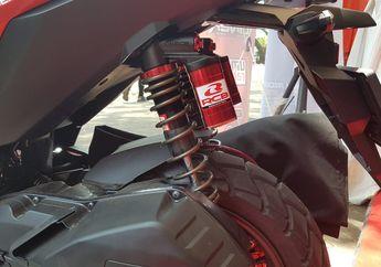 Makin Jangkung, Ternyata Skutik Adventure Honda ADV150 Bisa Pasang Sokbreker Belakang Yamaha XMAX