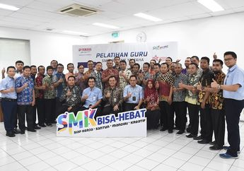 Yamaha Indonesia Kasih Pembelajaran Teknik Motor untuk Guru SMK