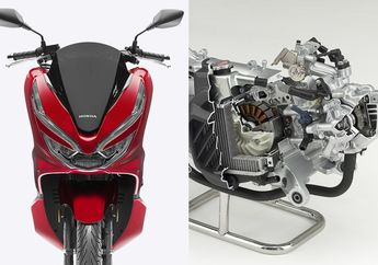 Bocor Gambar Paten Mesin Honda PCX Pakai 4-Klep, Pakai VTEC Saingi NMAX