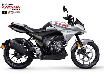 Bikers Indonesia Makin Galau, Tampilan Terbaru Suzuki Katana 150, Comot Basis dari GSX150 Bandit