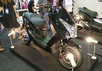 Mirip Honda PCX, Motor Listrik Lokal Ini Bisa Top Speed 100 km/jam