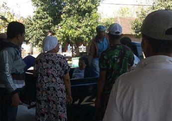 Warga Berhamburan, Yamaha Mio Diseruduk Mobil Box, Pemotor Perempuan Terkapar di Aspal