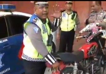 Pemilik Tertunduk Lesu, Video Yamaha RX King Disita Polisi Saat Razia, Salahnya Banyak Banget