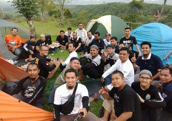 Bukan Cuma Turing, Muslim Biker Indonesia Chapter Tangerang Adakan Camping dan Learning di Bogor