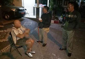 Bikin Onar, Seorang Bule Tendangi Motor yang Sedang Parkir di Bali, Satpol PP Langsung Gerak Cepat