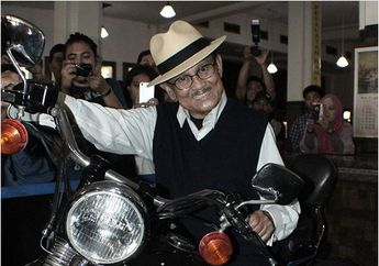 Baik Untuk Penyembuhan Pasca Operasi Jantung Jadi Alasan BJ Habibie Hobi Naik Moge Harley-Davidson