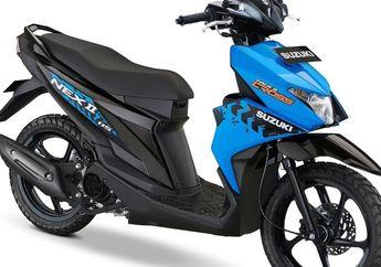 Punya Dua Versi, Skutik Terbaru Suzuki Nex II Cross Dibekali Beragam Fitur Keren