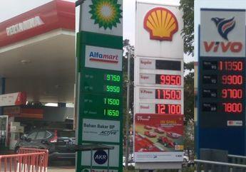 Ini Perbedaan Harga Bensin Pertamina, VIVO, Shell dan BP Castrol