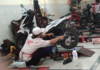 Servis Gratis Motor Baru Habis? Ini  Biaya Servis Motor Matic di Bengkel Resmi Honda